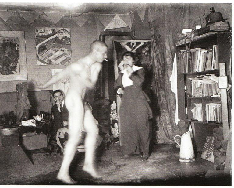 Танец Эрнста Людвига Кирхнера в студии. 1915