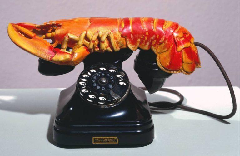 Телефон-омар. 1936