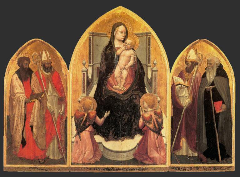 Триптих Сан Джовенале. 1422