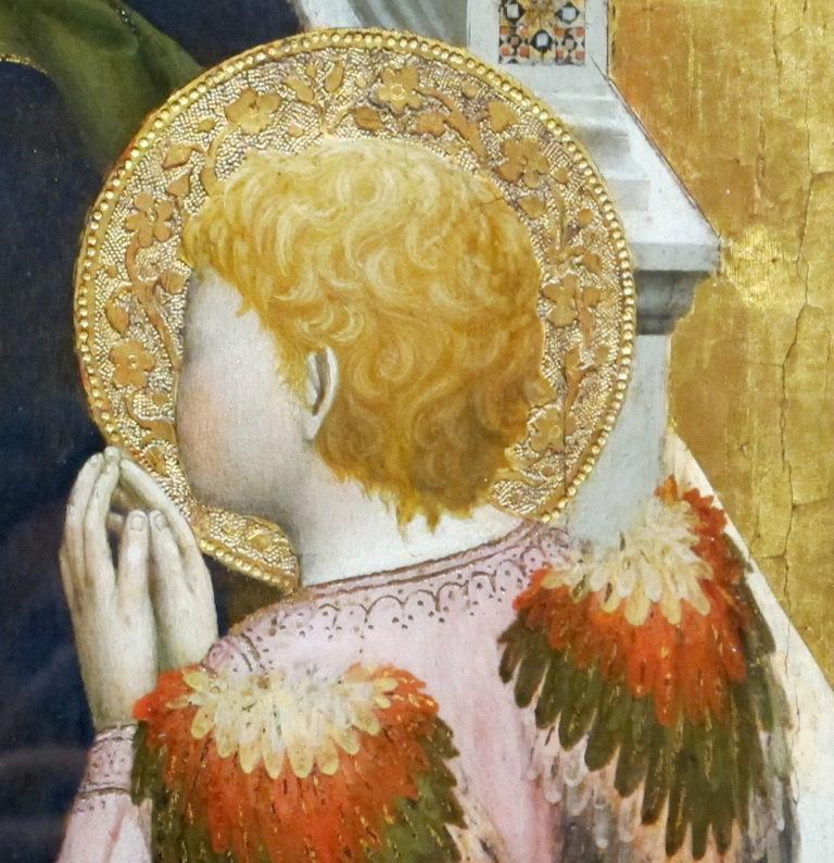 Триптих Сан Джовенале. Фрагмент. Ангел. 1422