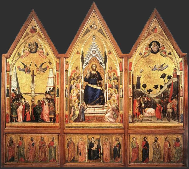 Триптих Стефанески. Лицевая сторона. Ок. 1330