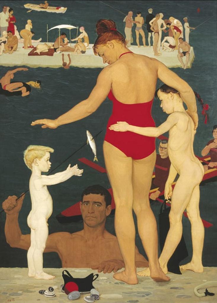 У моря. Семья. 1964