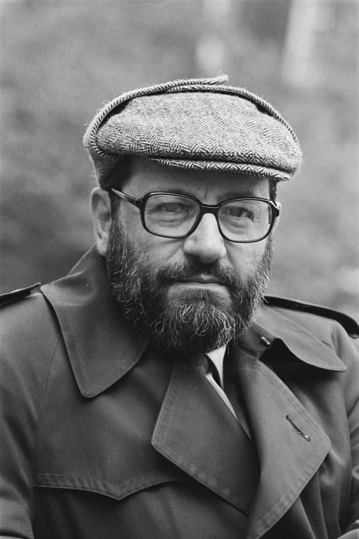 Умберто Эко (итал. Umberto Eco, 1932–2016). 1984