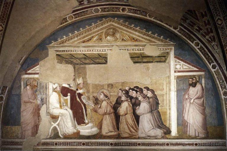 Утверждение устава францисканского ордена. Ок. 1325