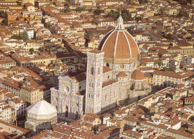 Вид на собор Санта Мария дель Фьоре