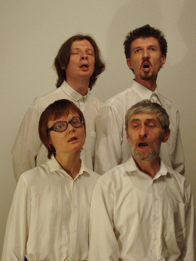 Видеоинсталляция «Хор» группы «Программа ESCAPE». 2005