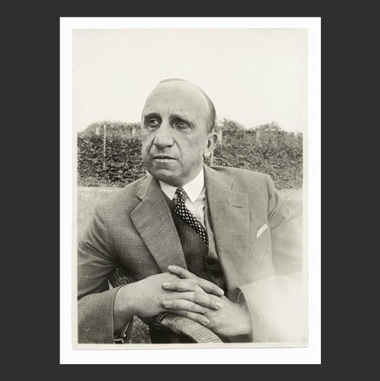 Вильгельм Воррингер (нем. Wilhelm Worringer, 1881-1965). Ок. 1925