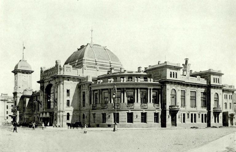Витебский вокзал в начале XX века