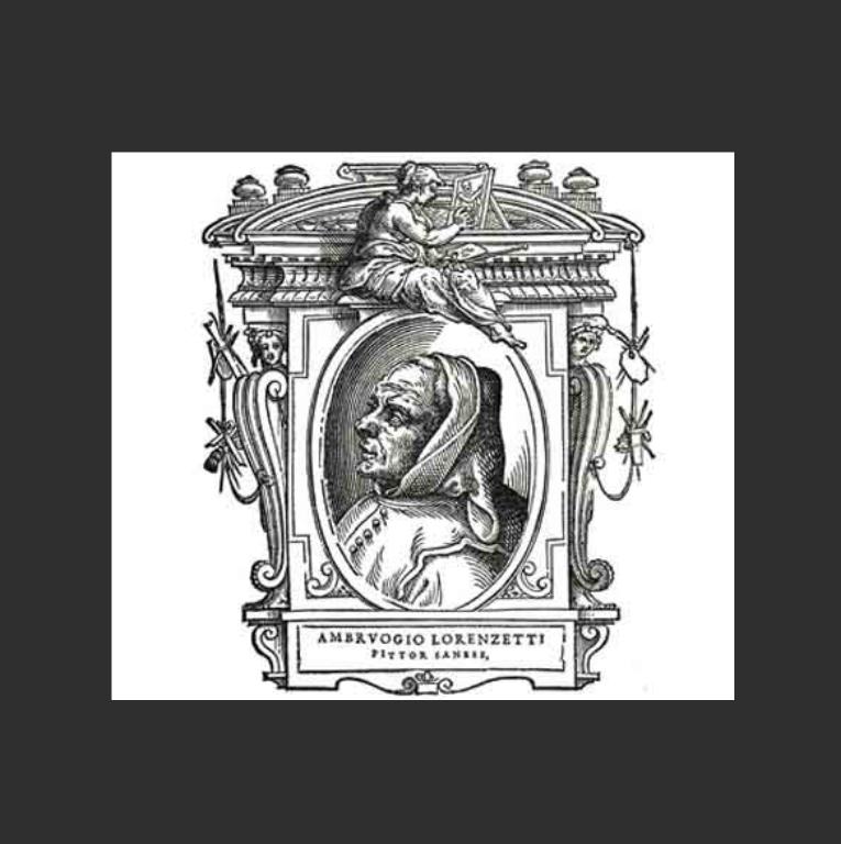 Вымышленный портрет Амброджо Лоренцетти. 1568