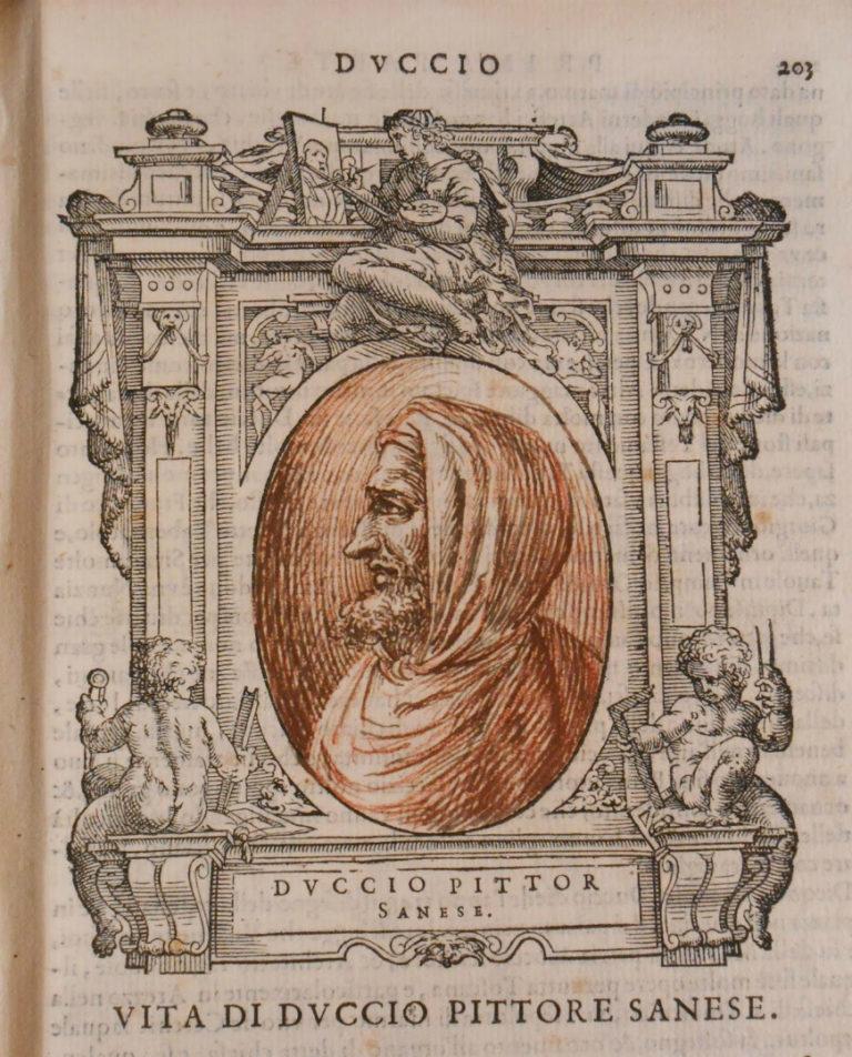 Вымышленный портрет Дуччо ди Буонинсенья. XVII в.