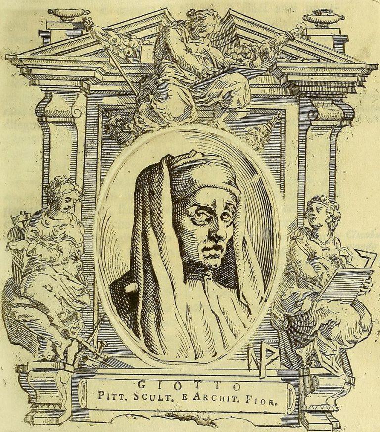 Вымышленный портрет Джотто. 1767