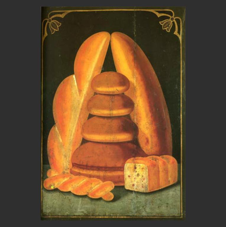 Вывеска для хлебной лавки. Нач. XX в.