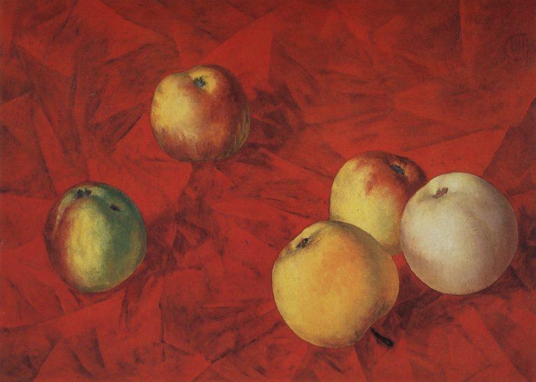 Яблоки. 1917