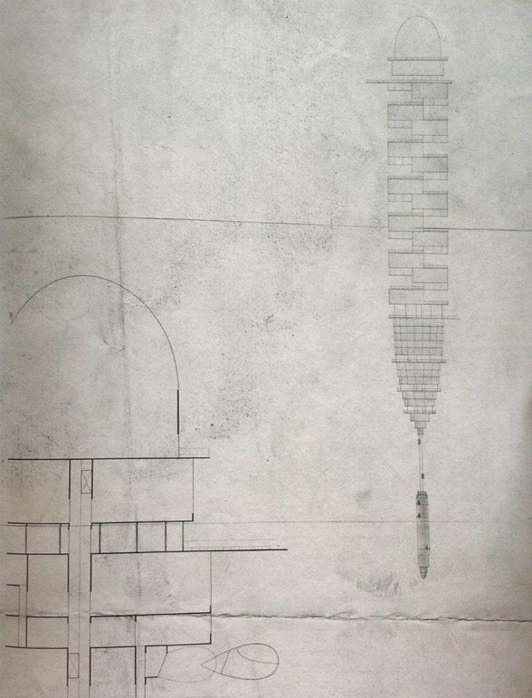 Жилой комплекс. Жилище гостиничного типа. Проект «Город будущего». 1928