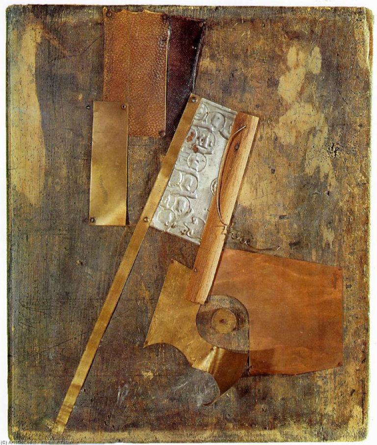 Живописный рельеф. 1914