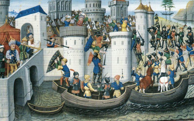 Завоевание Константинополя крестоносцами в 1204 г. XV в.
