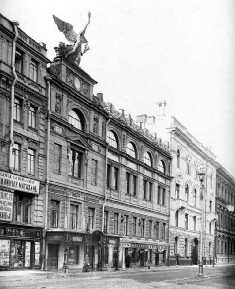 Здание Императорского Общества поощрения художеств на Большой Морской улице в Санкт-Петербурге. 1912