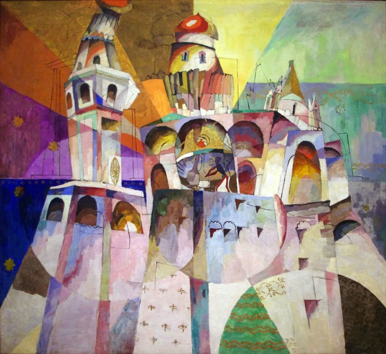 Звон (Колокольня Ивана Великого). 1915