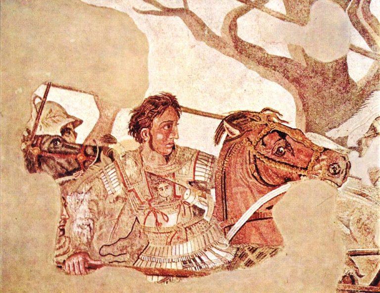 Александр Македонский. Ок. 100 до н.э.