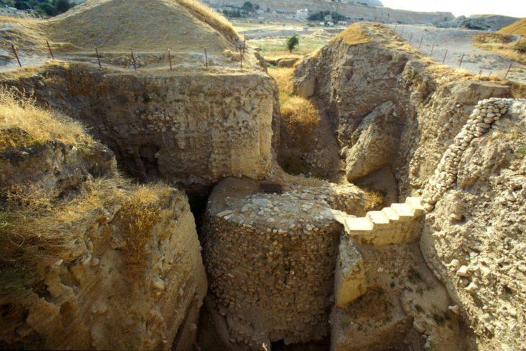 Башня древнего Иерихона. Ок. 7000–5800 гг. до н.э.