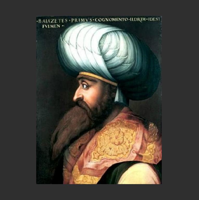 Баязид I. 1552–1562