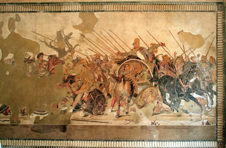 Битва при Иссе. Ок. 100 до н.э.