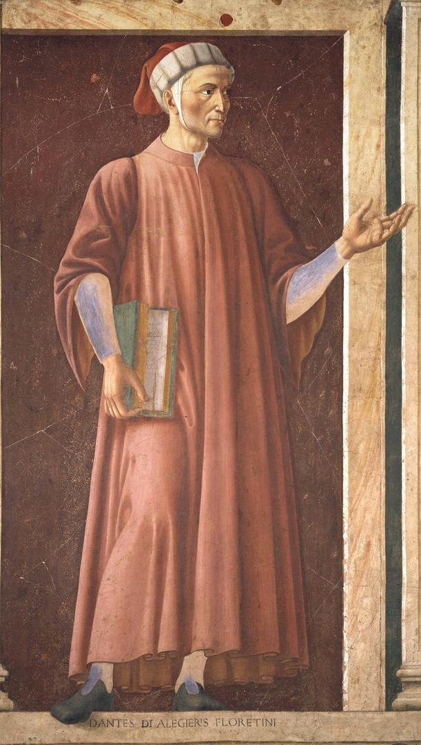 Данте Алигьери (итал. Dante Alighieri; 1265—1321). Ок. 1450