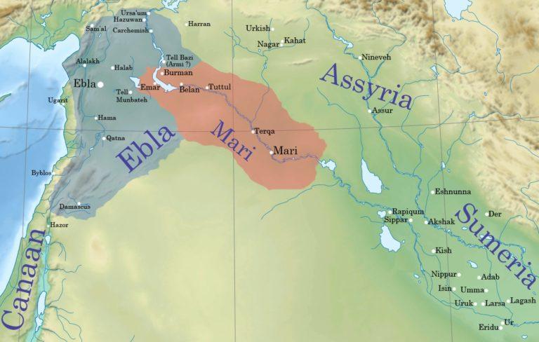 Эбла и Мари в 2500–2300 гг. до н.э.