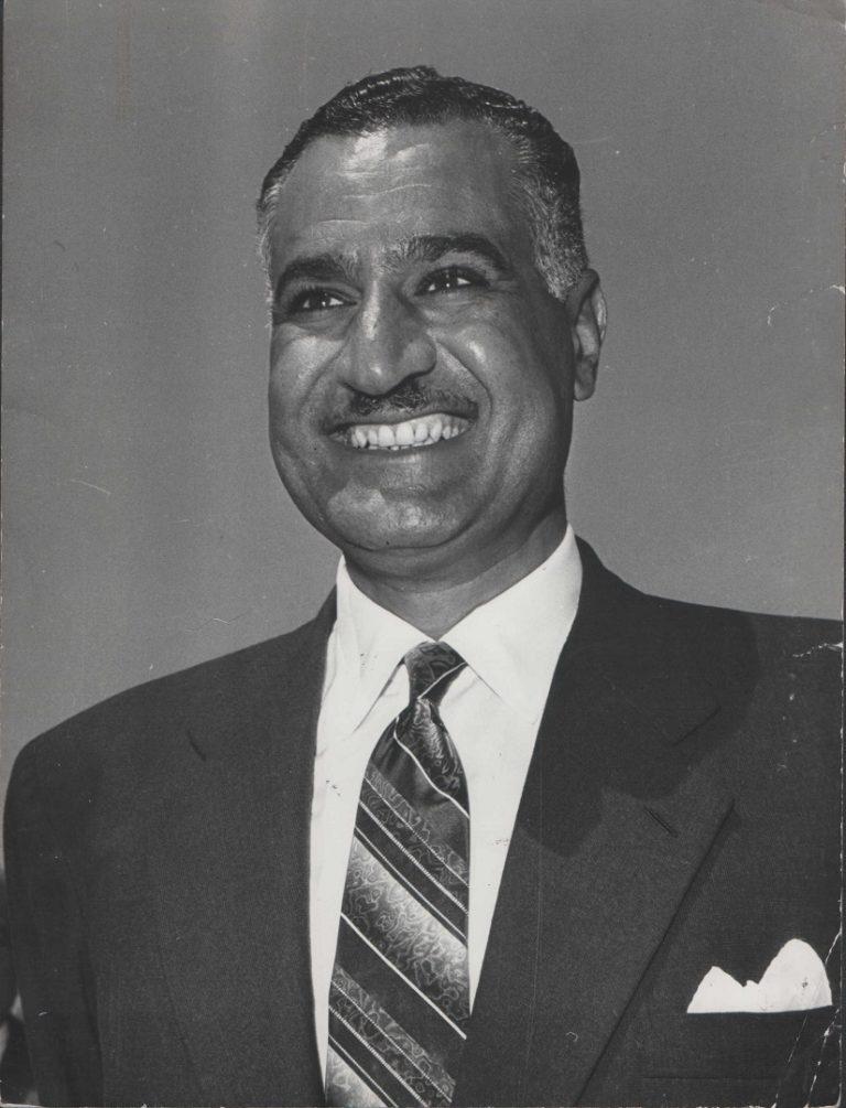 Гамаль Абдель Насер (1918–1970), президент Египта (1956–1970), президент ОАР (1958–1970)