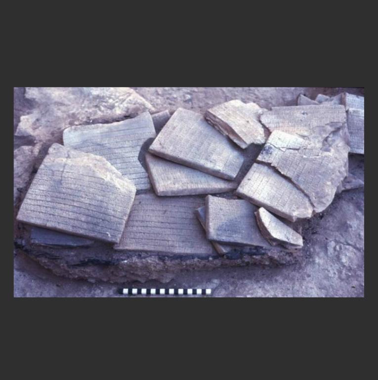 Глиняные таблички, найденные в Эбле