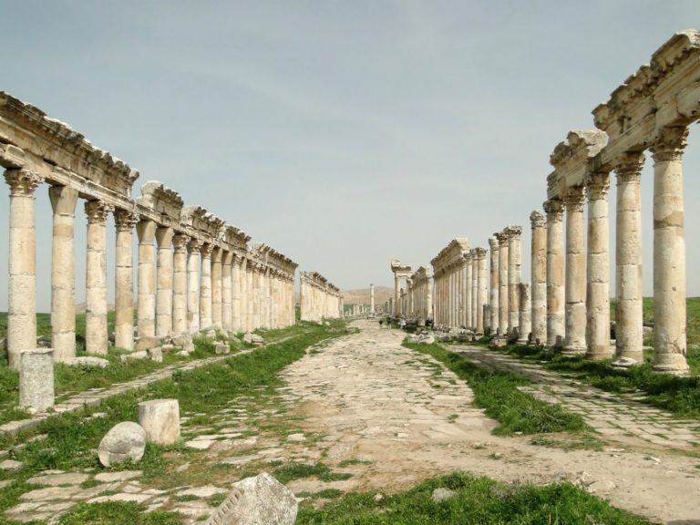 Колоннада Апамеи, Сирия