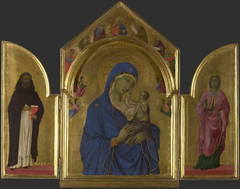 Лондонский триптих. 1300–1305
