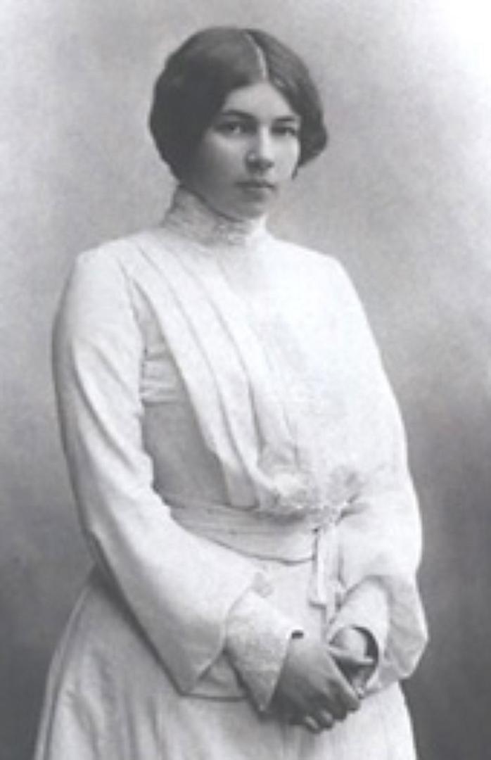 Любовь Дмитриевна Блок (урождённая Менделеева, сценический псевдоним — Басаргина; 1881—1939)