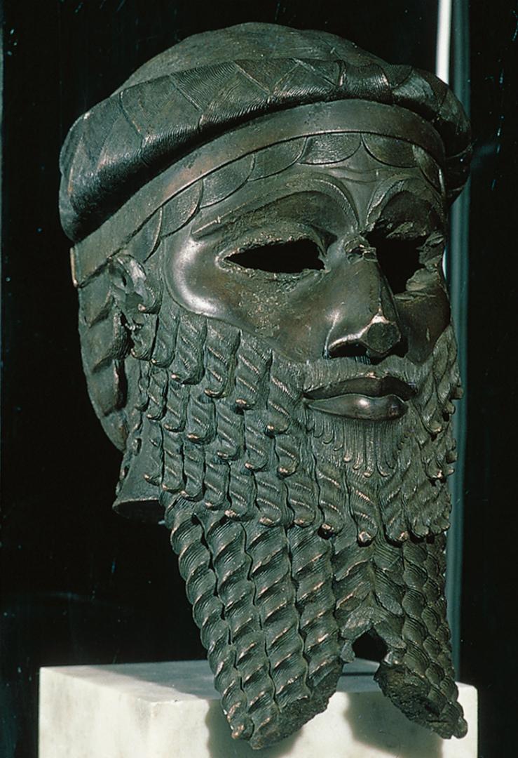 «Маска Саргона». XXIII–XXII вв. до н.э.