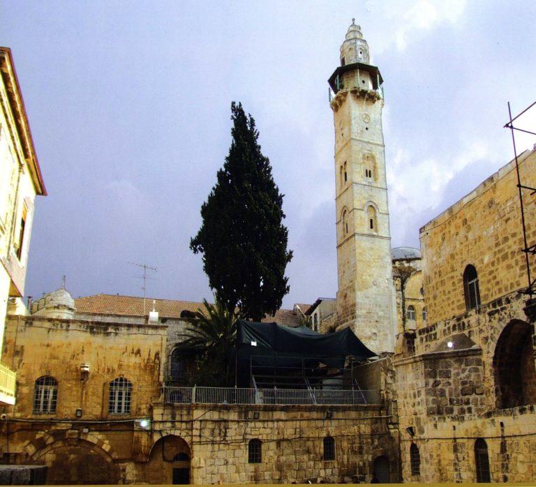 Минарет мечети Омара, Иерусалим