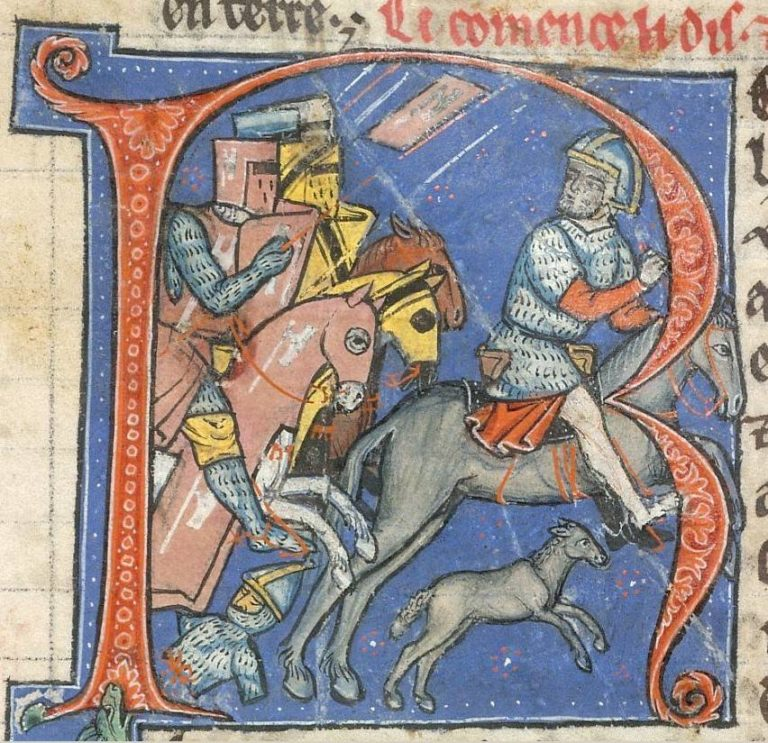 Нур ад-Дин спасается от крестоносцев