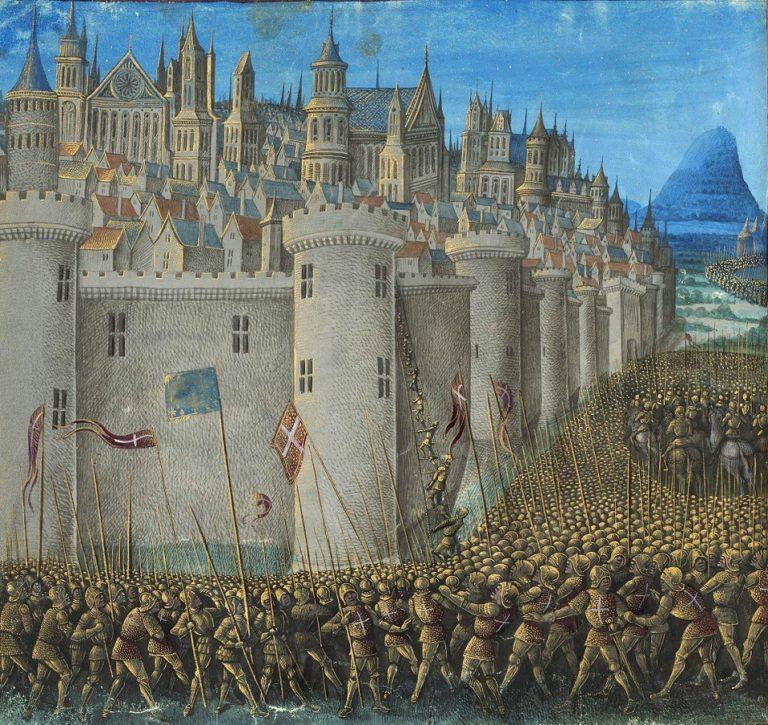 Осада Антиохии крестоносцами. 1474