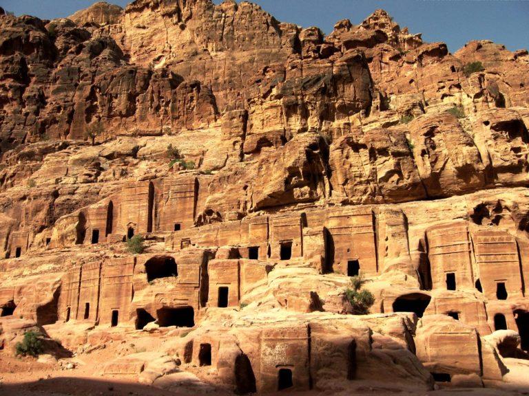 Останки древней Петры, столицы Набатейского царства