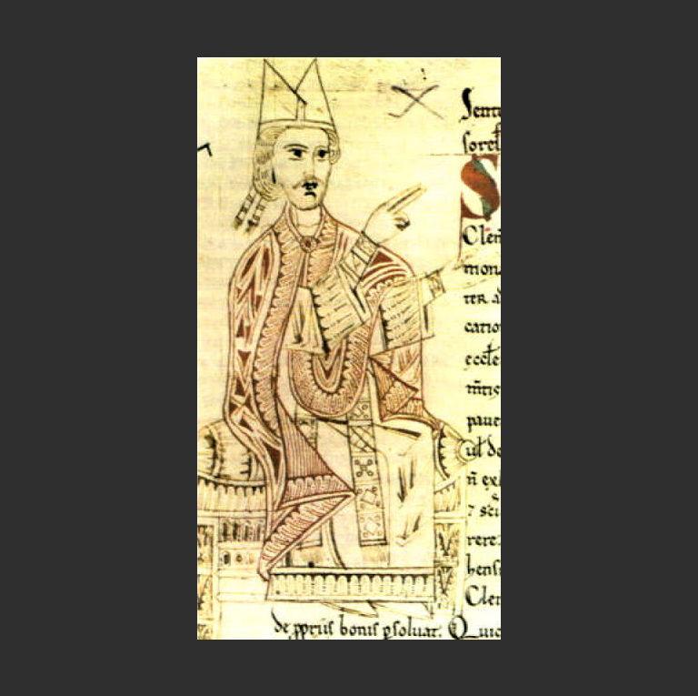 Папа римский Григорий VII (1015-1085)