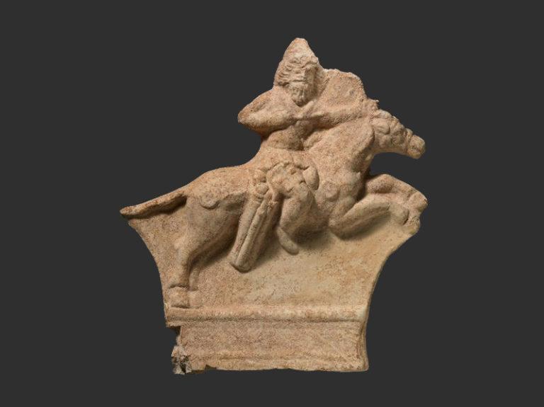Парфянский всадник. I в. до н.э.