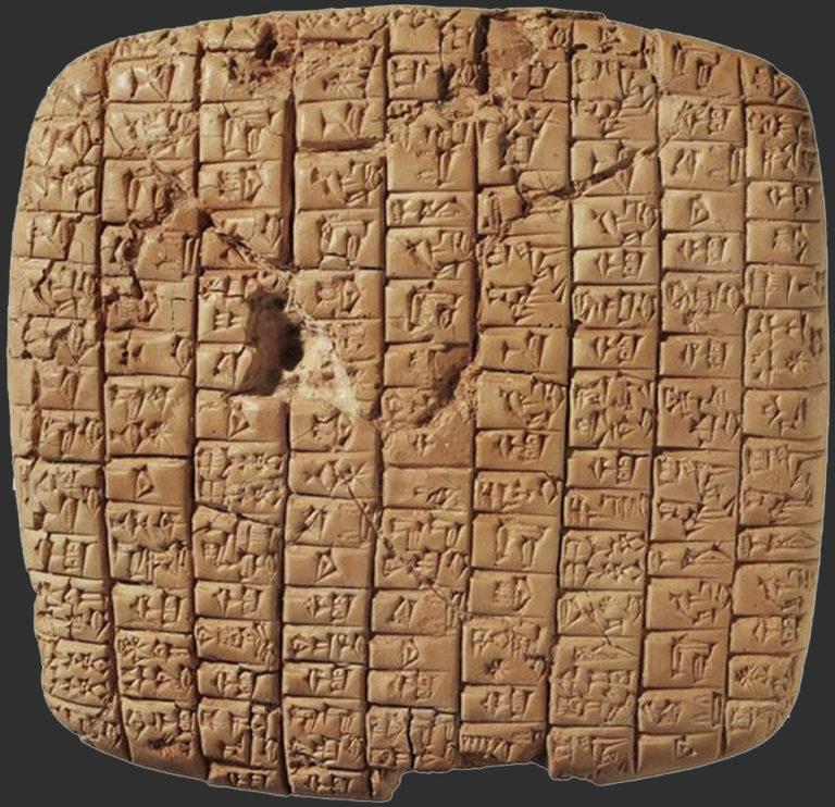 Письмо правителю Эблы от царя Мари. Ок. 2400–2350 гг. до н.э.