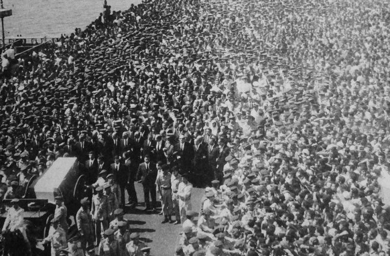 Похороны Насера. 1 октября 1970 г.