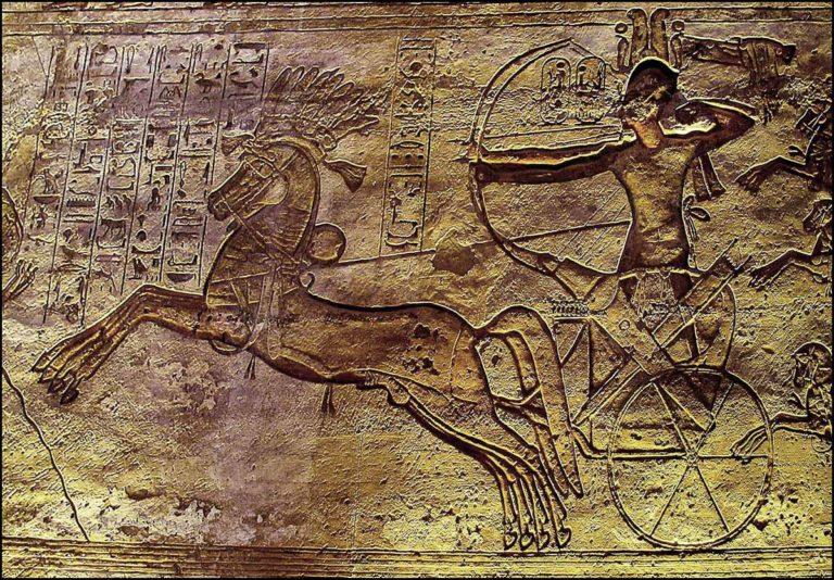 Рамсес II в битве при Кадеше