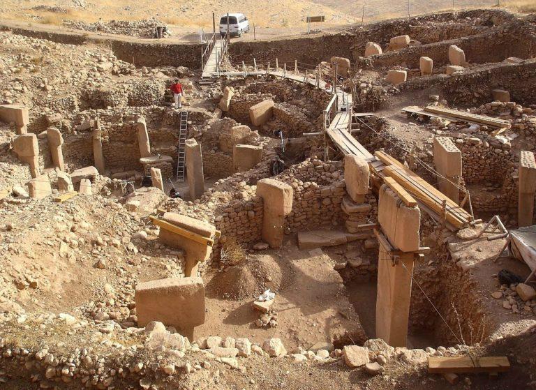 Раскопки в Гебекли-Тепе