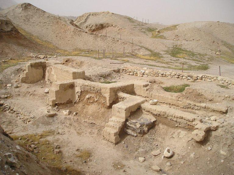 Раскопки в Иерихоне