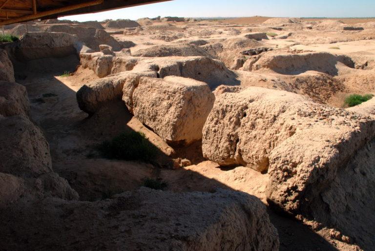 Раскопки в Мари, Сирия