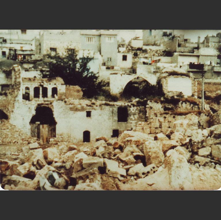 Разрушения в Хаме. 1982