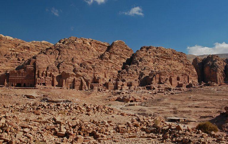 Руины Петры, Иордания
