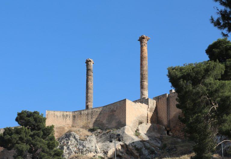Руины римской цитадели в Эдессе