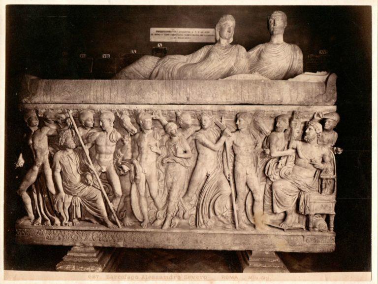 Саркофаг Александра Севера. III в.